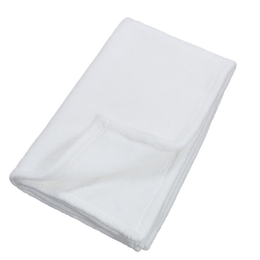 Sublimação Baby Cobertor 40 * 60 polegadas Sublimação Blanks Cobertor Macio Quente Cobertor 76 * 102cm Tapetes de Transferência Térmica Frete Grátis A02