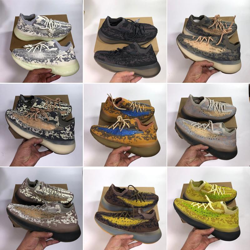 أعلى جودة الاحذية 380 v3 الغريبة ضباب أسود أزرق الشوفان الفلفل lmnte 3 متر عاكس الرجال النساء الرياضة حذاء مع مربع