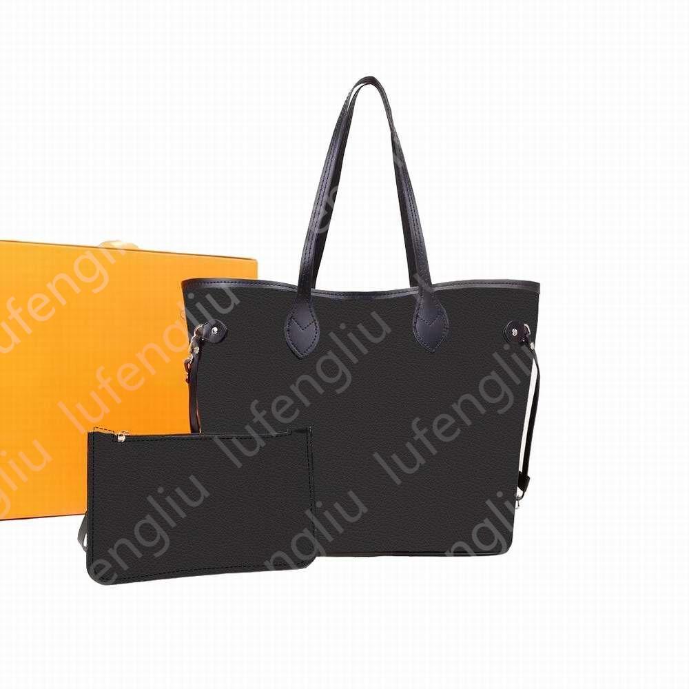 6 Renkler Yeni Moda Kadın Çanta Bayanlar Tasarımcı Kompozit Çanta Lady Debriyaj Çanta Omuz Tote Kadın Çanta Cüzdan MM Boyutu