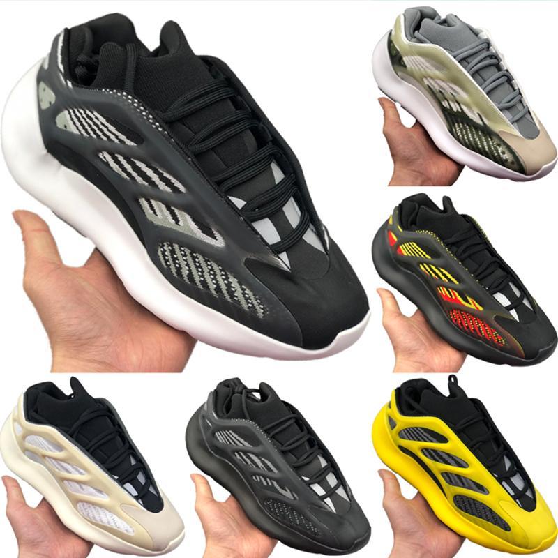 Box 2020 With Foam Runner 700 V3 Azael Static Reflective Running Shoe Originals Kanye West 700 V3 Azael Buffer Rubber Jogging Shoe