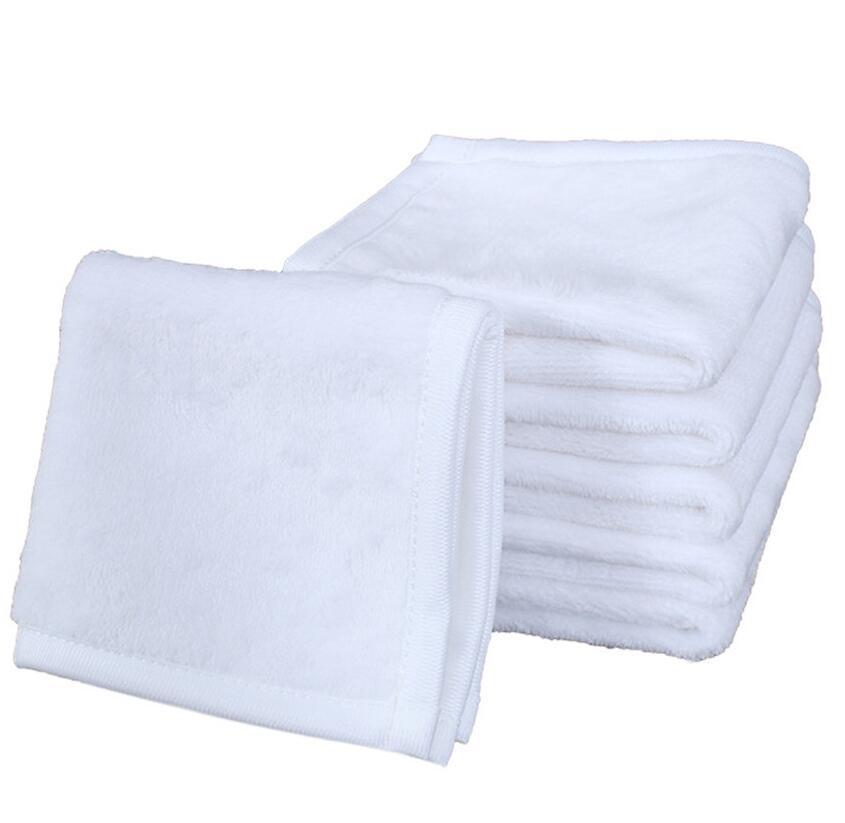 30*30CM Sublimation Kerchief Thermal Transfer Plain White Printed Kerchief Towel Unisex Portable Washable Washrag Hand Towel F102303