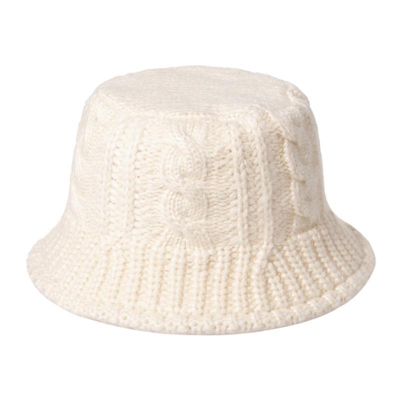 Hat 2020 Женская Новая Осень Шерстяная Штака Шляпа Мода Студент вязаный Теплый и Холодный Рыбак