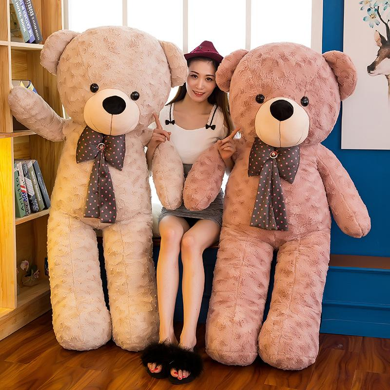 70cm-160cm Soft-Bär Plüschtiere Braunbär Super große Hugging Pillow Tierkissen Kinder Geburtstags-Geschenk