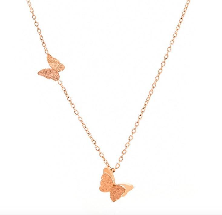 SFN1 Подвески для женщин Простой дизайн ожерелье Стильный нержавеющей стали ювелирные изделия партия подарков Y200918