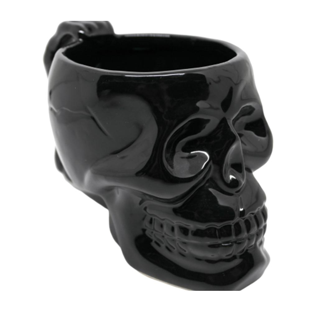 1pc Mug Cup Skull Style Porcelain Creative Funny Gift Tea Cup Ceramic Water Cup For Tea Coffee Drinks T200104