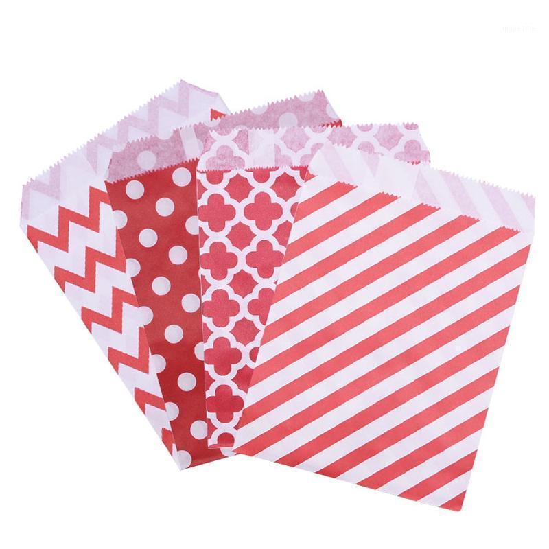 25 / 50шт смешанный стиль бумажные пакеты свадьба Party Hood Cookie конфеты подарочные сумки упаковки день рождения украшения партии