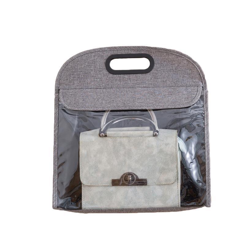 1 шт. Шкаф для хранения пылезащитный кошелек сумки сумки помещения крышки органайзер