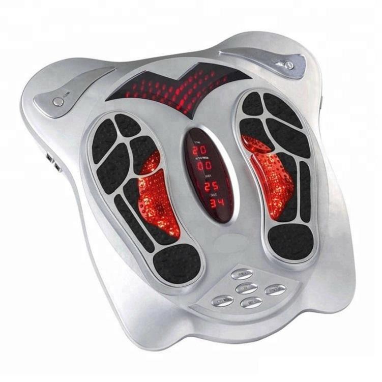 Control remoto eléctrico masajeador de pies Shiatsu Amasamiento pulso de calor Pies terapia analgésica masaje de relajación Herramientas Cuidado de la Salud
