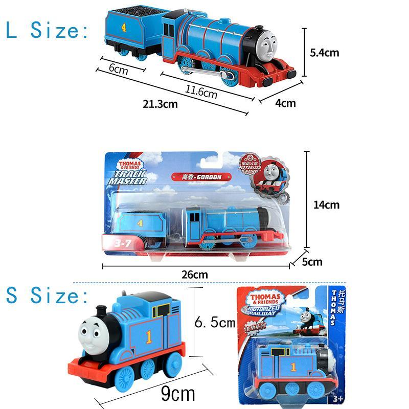 Elektrik Thomas ve Arkadaşları 01:43 Döküm Parça Orjinal Usta Trenler Motorlu Metal Model Araç Akü Malzeme Çocuk Oyuncak Brinquedo