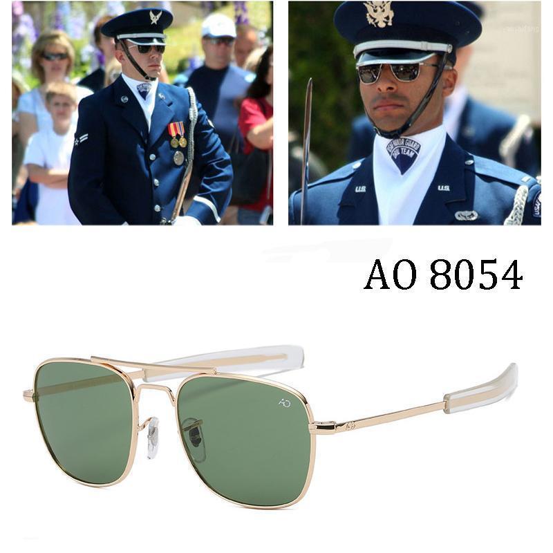 AO Marca Aviação Óculos de Sol Homens Marca Americana Exército Óculos Ópticos Ópticos para Masculino UV4001
