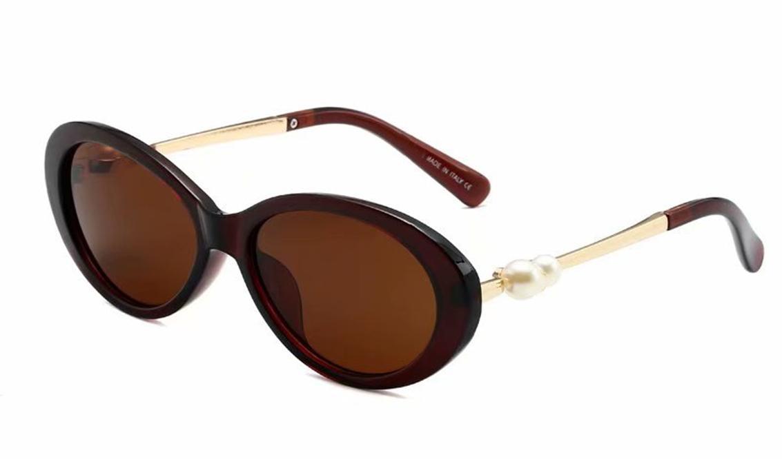5366 Tasarımcı Güneş Gözlüğü Retro Yuvarlak Çerçeve Düz Gözlük Klasik Vintage Marka Güneş Gözlükleri Erkekler Kadınlar Için UV400 Metal Yarım Çerçeve RxSyx