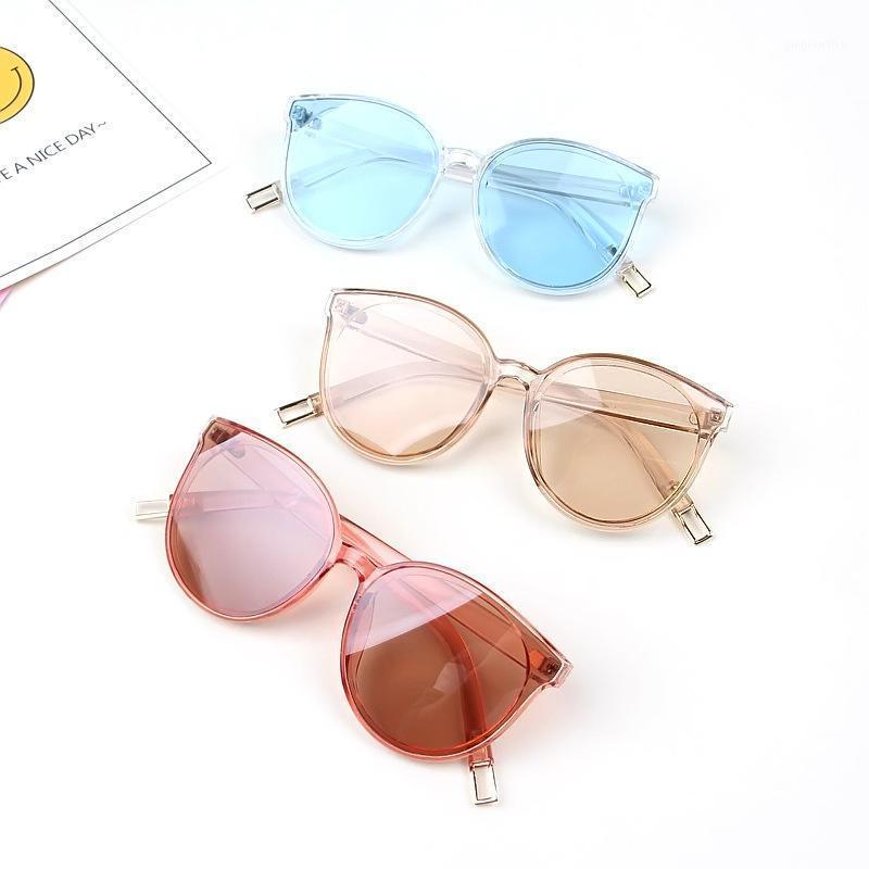 Occhiali da sole glausa vintage gatto occhio bambini per bambini bambini ragazzi ragazze grande carino cateye occhiali da sole uv400 viaggio eyewear1