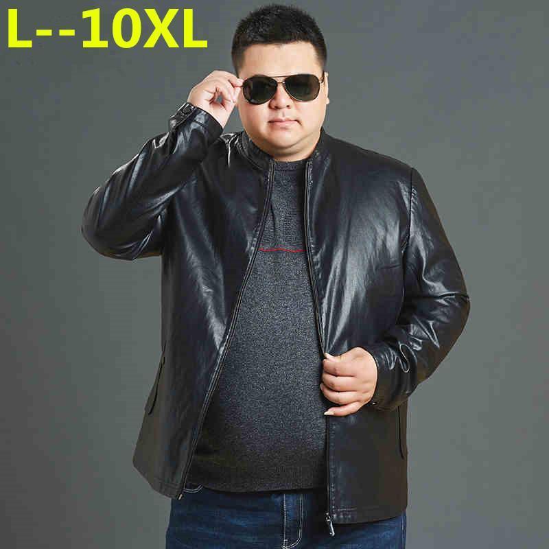 10XL 9XL 8XL 6XL Мотоцикл кожаные куртки мужчины jaqueta де Couro masculina Bomber кожаная куртка Inverno Couro мужской верхней одежды пальто