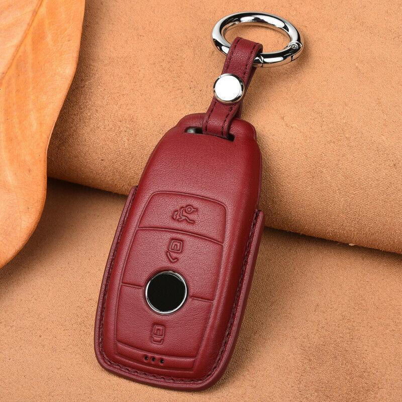 Mercedes Benz E C Sınıfı W205 W213 C200 C260 Uygun Araba Anahtarı Kılıf Kapak Çanta