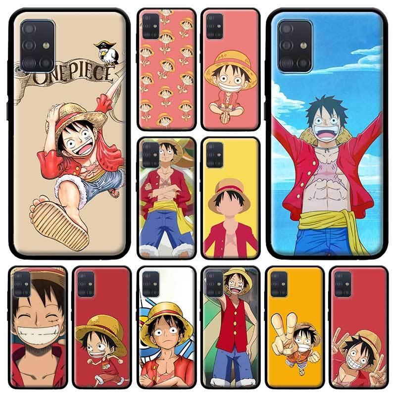 One Piece Обезьяна D Luffy чехол для Samsung Galaxy A51 A71 M51 M40 A31 A41 A91 A21s M30s M31 Soft Bolso Mobile Коке Капа