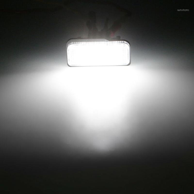 2 stücke Auto LED-Kennzeichen Beleuchtung für W211 W203 5D W219 R171 Kein Fehler1
