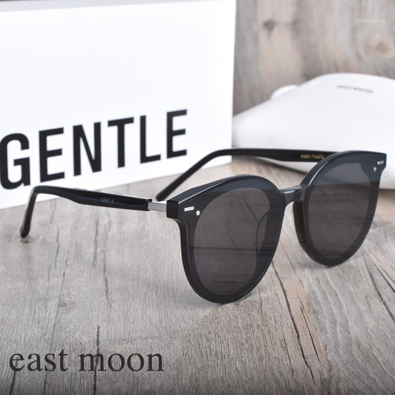 Солнцезащитные очки, вождение круглых моды дизайнер нежный ацетатный бренд Moon Travel UV400 объектив East New Polarized Sunglasses1 VHRPG