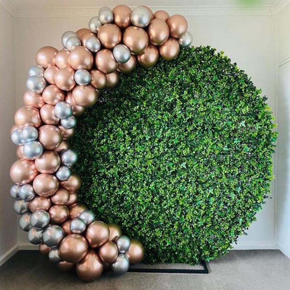 82 stücke Chrome Rose Gold Ballon Garland Bogen Kit mit Silber Globos Hochzeit Geburtstag Party Dekorationen Baby Shower Supplies F1222