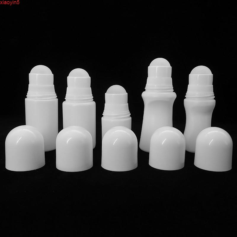 30 мл 50 мл Ароматизатор PE Большие пластиковые роликовые бутылки DIY дезодорант эфирным маслом парфюмерные косметики анти-прозрачный ролл на бутылки