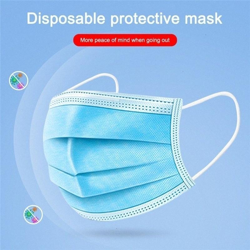 перевозка груза, свободная 50 пачек одноразовых трехслойной плавкого защитного дышащий пылезащитного masksM66J