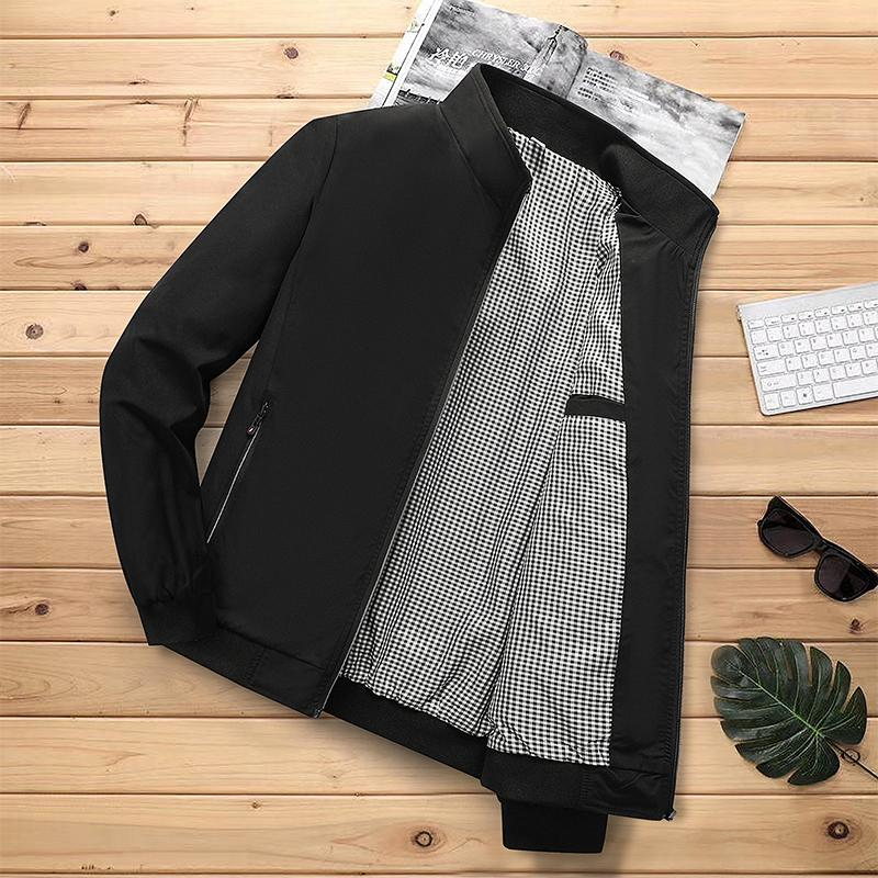 MANTLCONX New Solid Casual Men Autumn Winter Outerwear Man Classic Thicken Coat Men's Jackets for Male Jacket Coats M-5XL