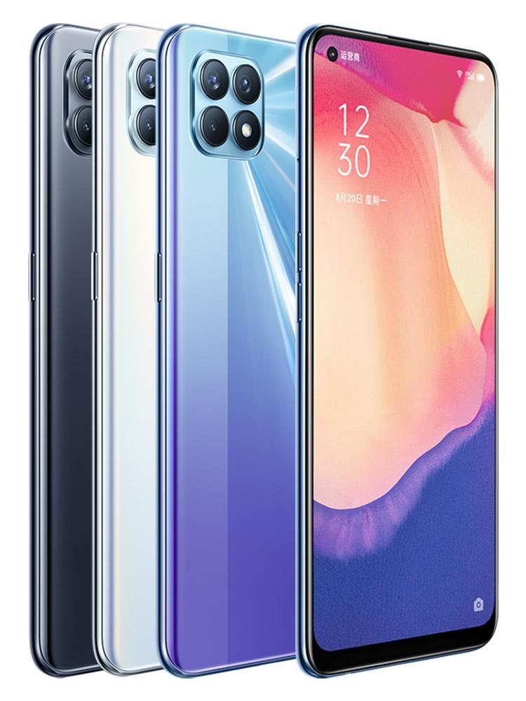 "Оригинал Oppo Reno 4 SE 5G мобильного телефона 8GB RAM 128GB 256GB ROM МТК 720 окта Ядро Android 6,43"" 48.0MP AI Face ID отпечатков пальцев ID сотовый телефон"