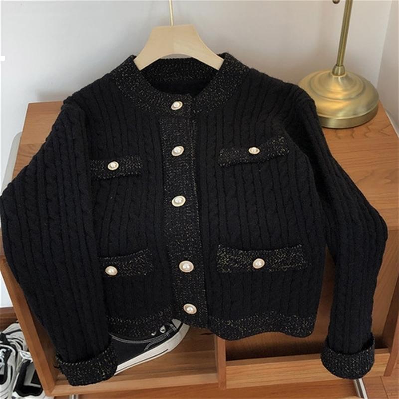 Новая осень 2021 женщина кардиган свитер винтаж роскошный дизайнер женская одежда Aciu