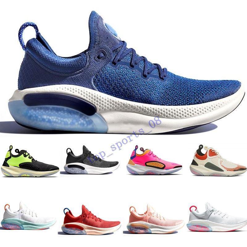 2020 Joyride Running Shoes para Homens Platinum Tint Universidade Red Racer Blue Moda Preto Mens Treinador Athletic Sport Sneaker Tamanho 40-45