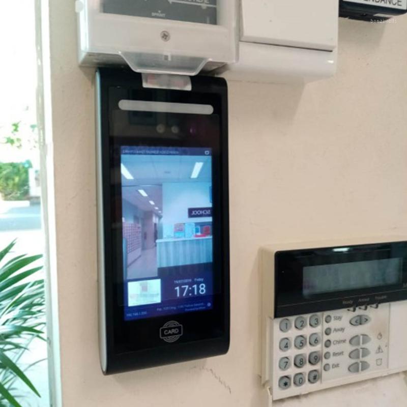 5inch wifi الروبوت في الهواء الطلق ديناميكي الوجه الوقت الحضور قفل الباب قفل التحكم سحابة دعم البرمجيات الحرة ic بطاقة قارئ 1