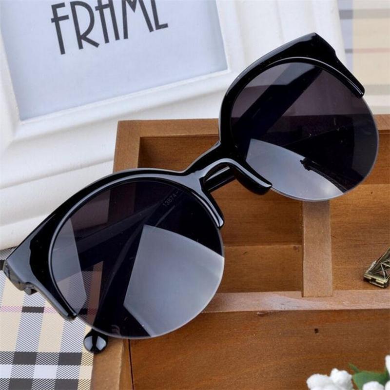 Солнцезащитные очки ASOUZ 2021 мужской высокоцентурный бренд кошка глаз очки леди путешествуя мода UV400 спортивные повседневные половину рамки