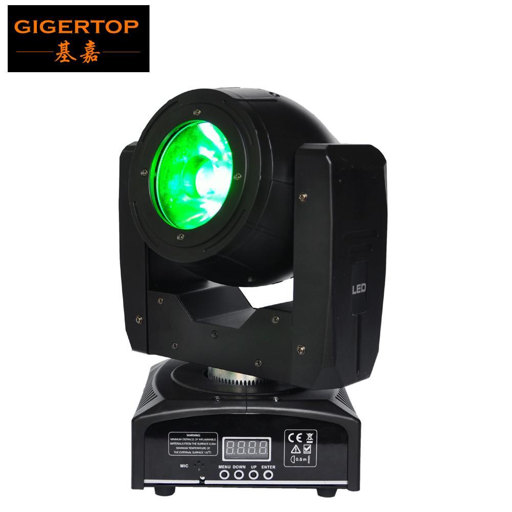 TIPTOP MINI 60W LED MOVLING HEAD LIGHT O-R-S-A-M LED-lampa RGBW 4IN1 Färgstråleffekt 4 graders vinkel Stor lins bra strålskanner