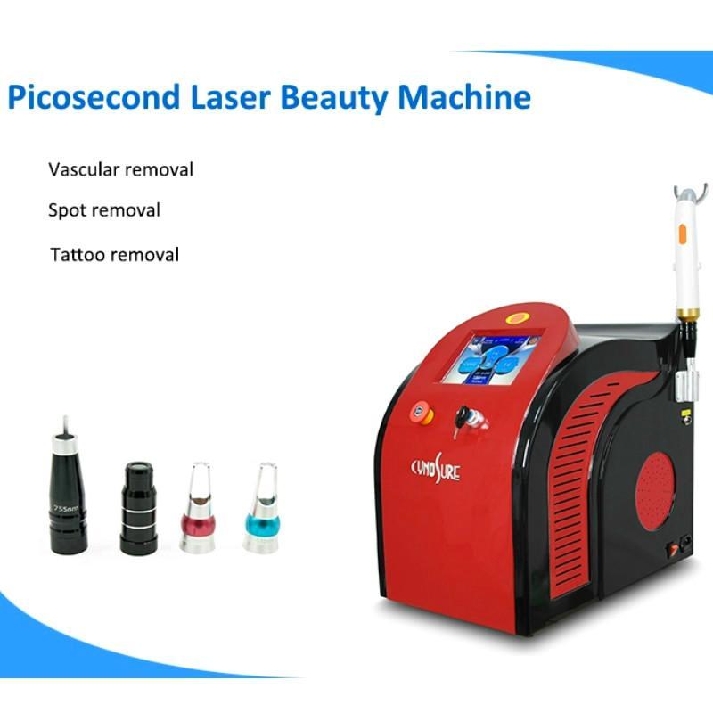Pico Laser Tattoo Supprimer Dark Skin Spots picoseconde Honeycomb Laser 755 Déchatoiement picoseconde machine