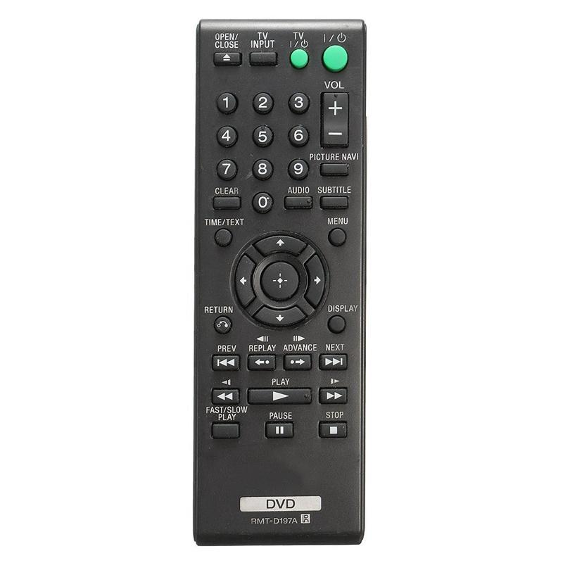 Rmt-D197A Smart-Fernbedienung für Sony DVD DVP-SR210 DVP-Sr210P DVP-Sr510H DVP-SR510