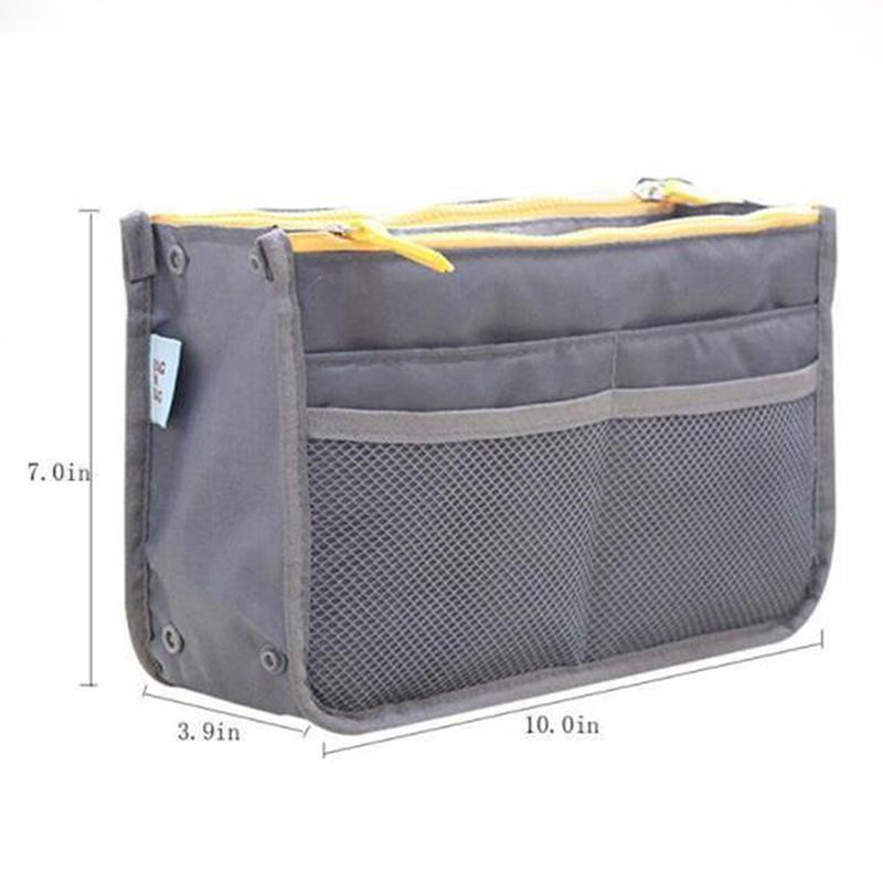 Cremallera Pequeño Kit de almacenamiento Cosmético Artículos de aseo Maquillaje para viajes Organizador Bolso Bolso NECESERIOS Bolso de aseo DUGUA