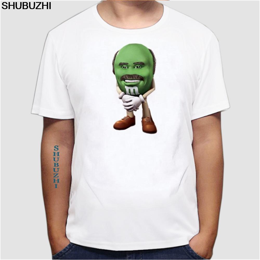 deporte Tops divertida camiseta camisetas gráficas de los hombres 3d alimentos de impresión camiseta de chocolate MM de dibujos animados manga corta de seda T-Shirts tamaño euro