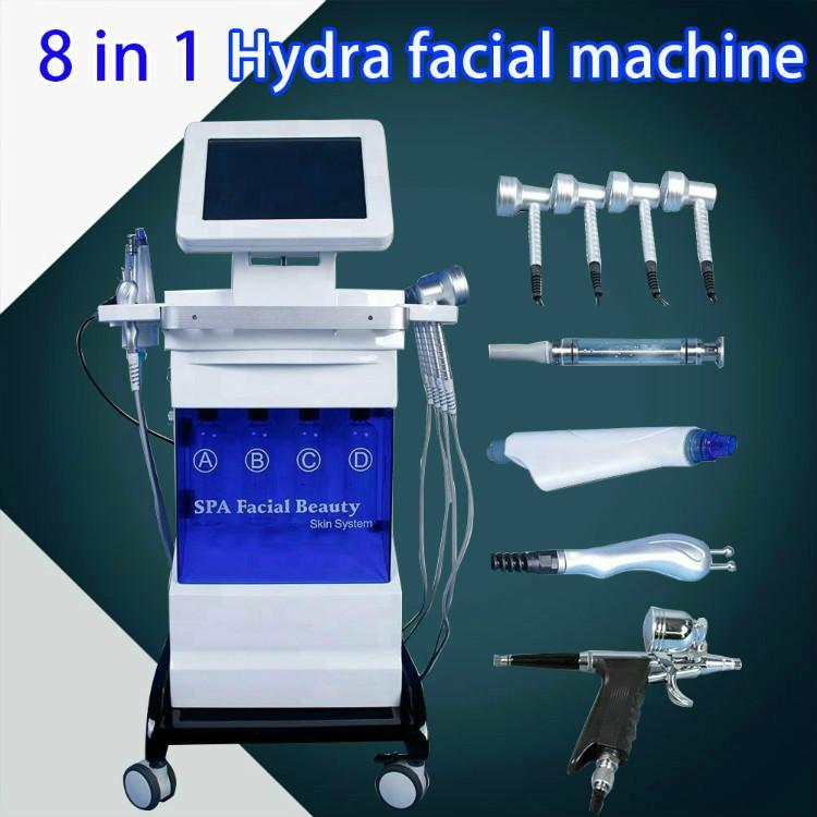 2020 Гидровая машина для очистки воды Microdermabrasion Microdermabrasion Beauty Tool DermaBrasion Faceal лечение био извлекающее лицо машины увлажнение