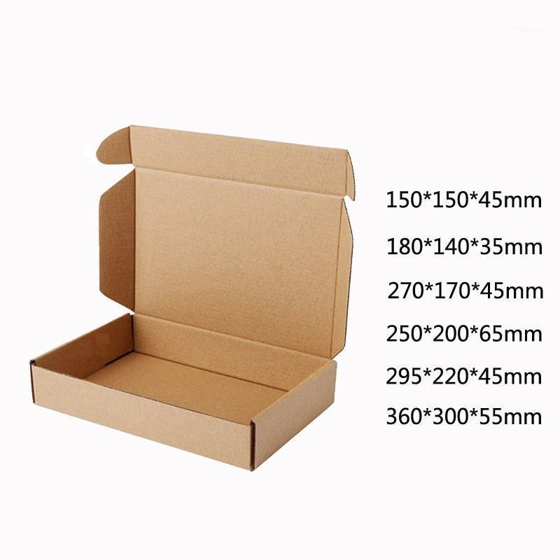 Подарочная упаковка 10 шт. / Лот Браун Бумага Крафт Box Post Craft Pack Ящики Упаковка для хранения Почтовая рассылка для Wedding1