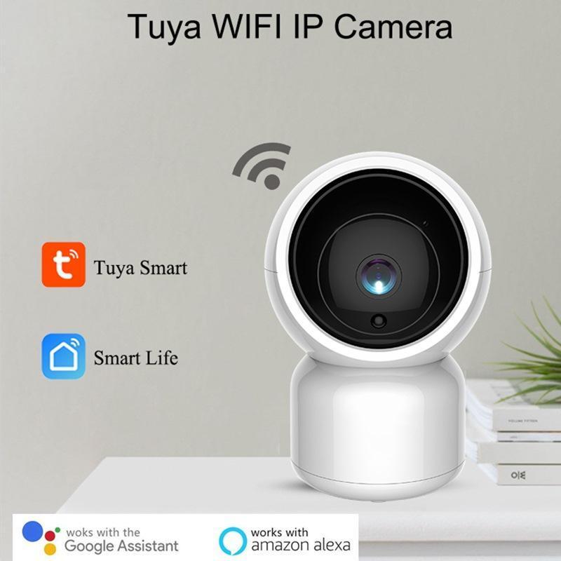 팬 - 틸트 줌 양방향 오디오 베이비 케어 알렉사 Google 홈 음성, 비디오 컨트롤과 LORDWEY 스마트 1080P HD 무선 IP 카메라