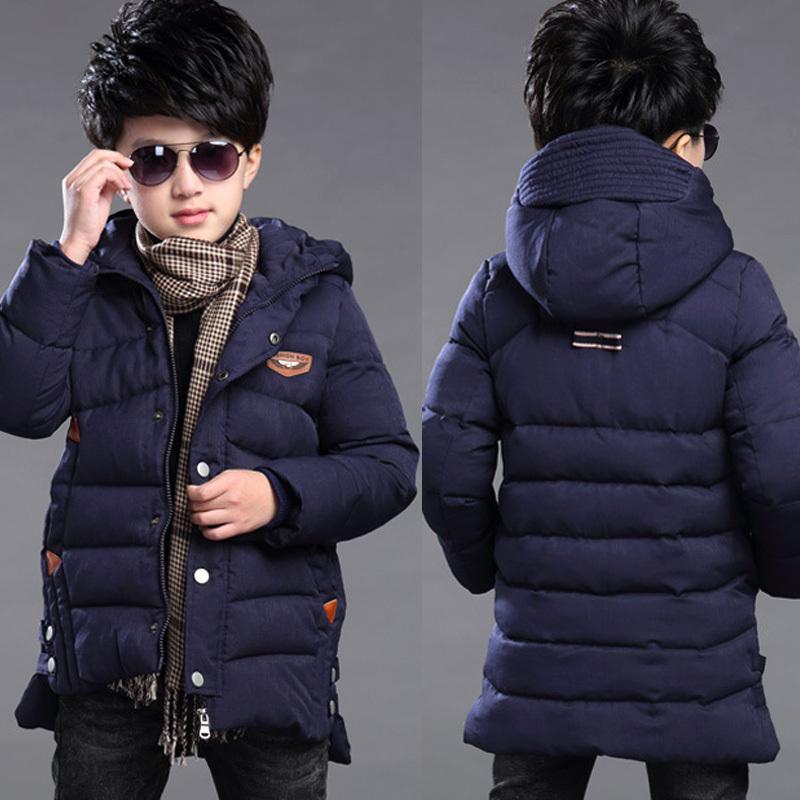 Neue Jungen Winterkleidung 4 Halten Sie warm 5 Kinder 6 Herbst Winter 9 Mantel 8 Mittleren Alter 10 Jahr 12 Stapel-dickere Baumwolljacken 201030