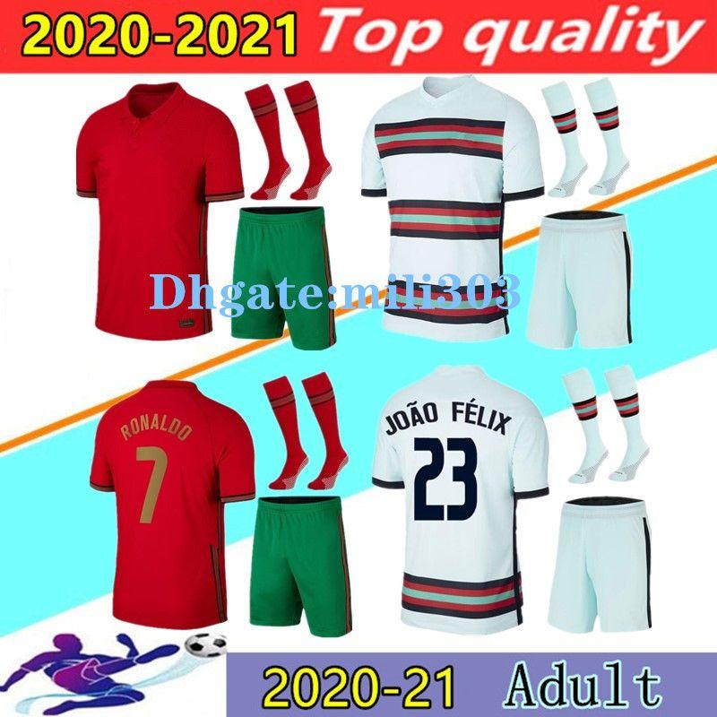 2020 Ronaldo Soccer Jerseys Kits 20 21 Joao Felix Neves Bernardo Cancelo Ruben Neves 2021 الصفحة الرئيسية Team Team
