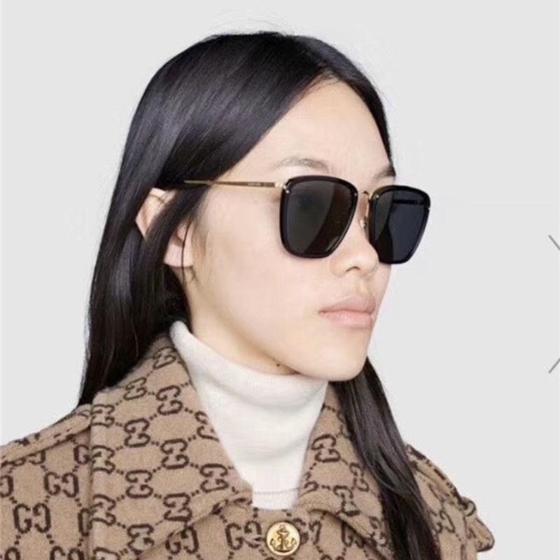 2020 Erkekler Lüks Güneş Kadınlar Için Özel Koruma Kadınlar Kare Tasarımcı Vintage Çerçeve En Kaliteli Ünlü Marka Güneş Gözlüğü 0673
