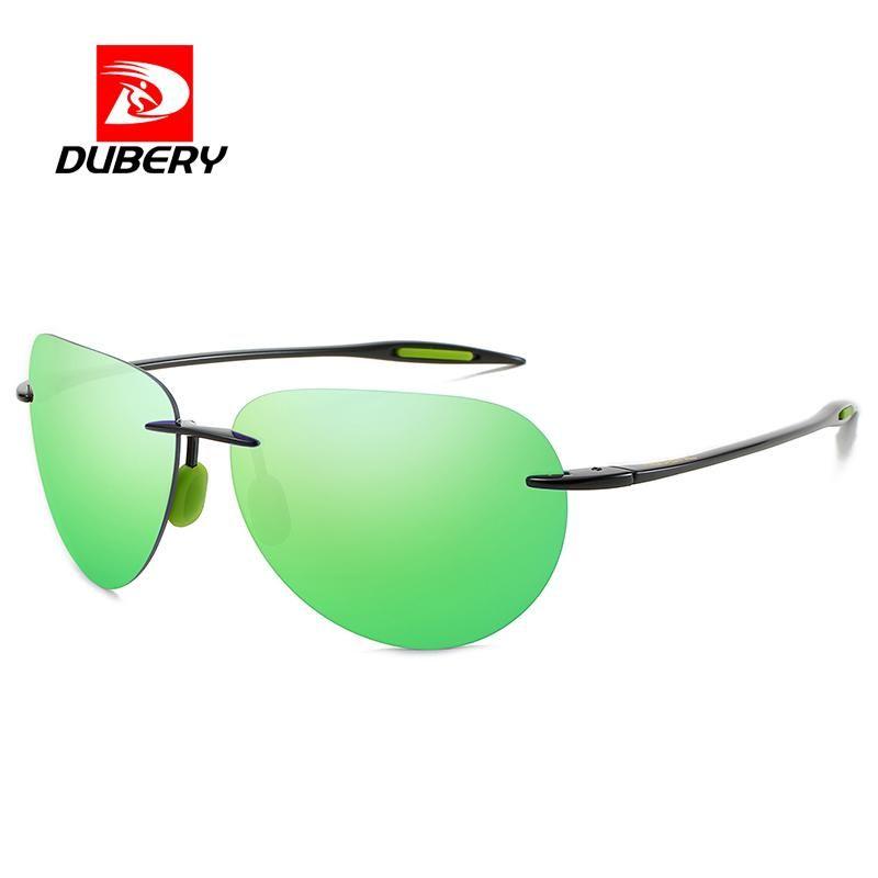 Sun Ultralight Glasses Aviation Polarized Rimless De WomenDriving Golf Sports Sunglasses Frame Classic Sol UV400 Men Rectangle Iukou