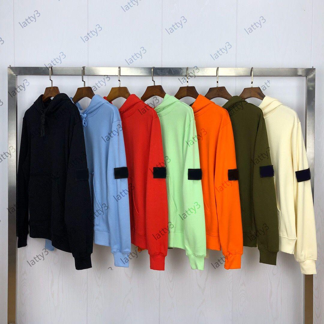 2021 Erkek Stylist Hoodies UNSEX Mektup Baskı Kazak Erkekler Kadın Kazak Kapak Markaları ile Hoodie Lüks Sweatshierts Boyutu M-2XL Uzun Kollu Örme Spor Giyim