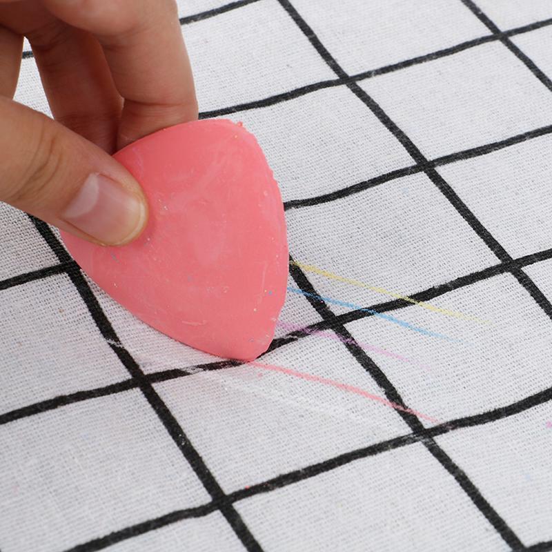 10PCS / BOX Multicolor Fabric Tailleurs Chalk effaçable Tissu Marker Patchwork Vêtements Motif bricolage couture Boîte à outils