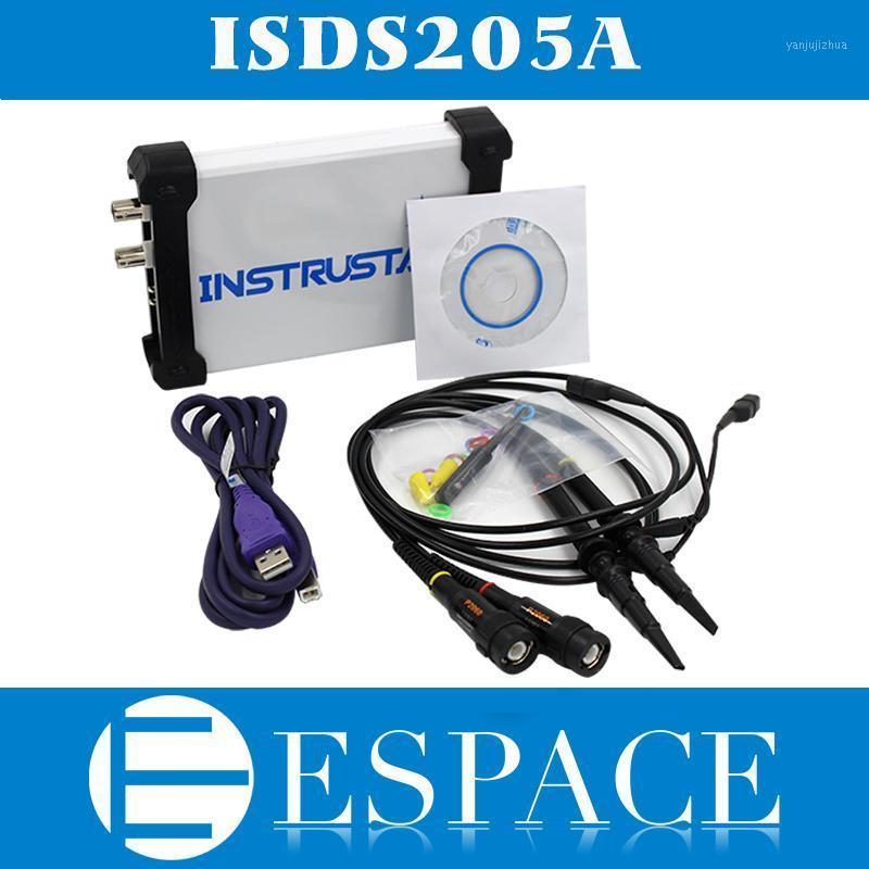 MDSO ISDS205A Nueva actualización 3 en 1 Multifuncional 20 m PC USB Virtual Oscilloscop + Spectrum Analyzer + Data Recorder1