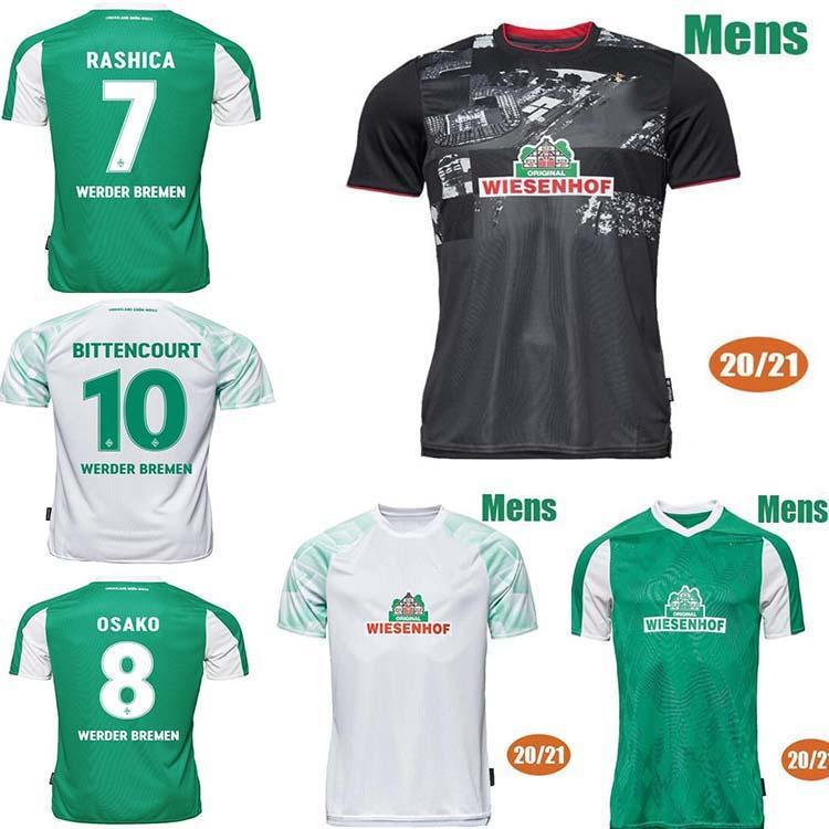20 21 Werder Bremen Soccer Jerseys Fullkrug Eggestein 2020 2021 Werder Bremen Osako Football Shirt Shirt Jersey