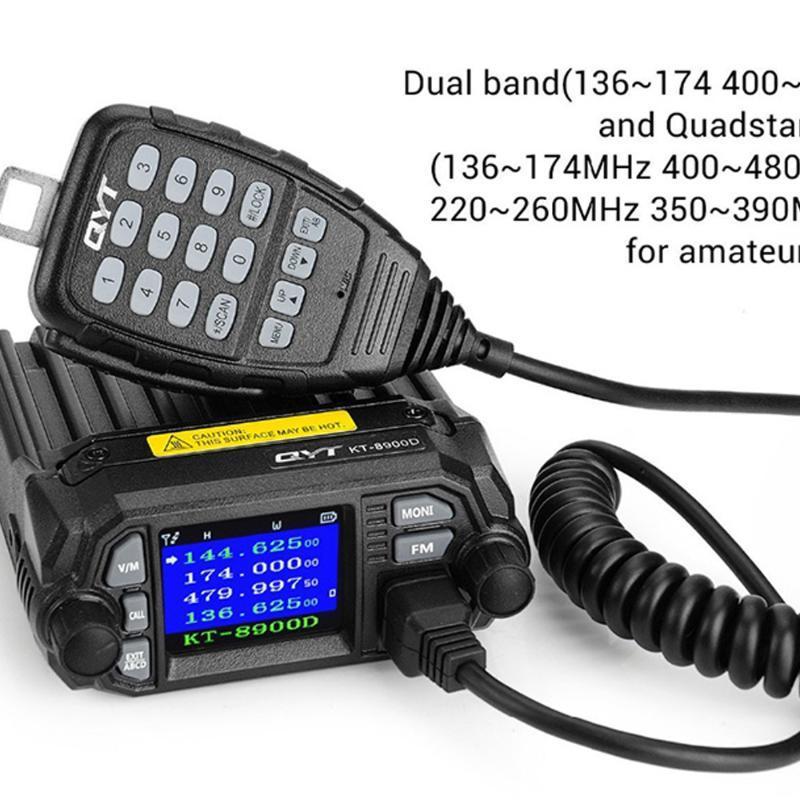 KT-8900D Dual Band У мини мобильного радио автомобильного радиоприемник FM трансивер 25W У BJ218 Vericle автомобили Ham Dual Band