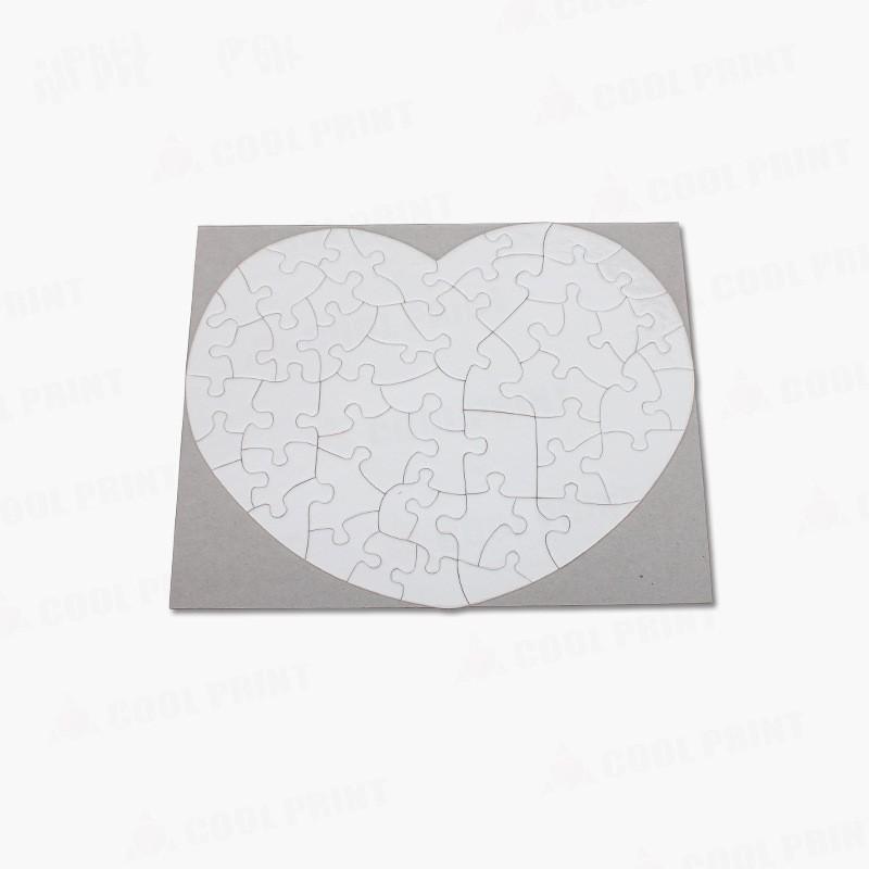 Wärmeübertragungs-Sublimations-Leerzeichen Puzzle-Multi Design-Bild Puzzle-Block Weiß A3 A4 A5 Papier Puzzle-Puzzles Erwachsene Kind Geschenk Spielzeug 6Ky L2