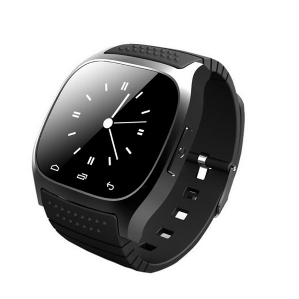 Stepfly Sport Bluetooth Smart Watch Luxury Smartwatch M26 with Dial SMS Remind Pedometer for IOS Android PK U8