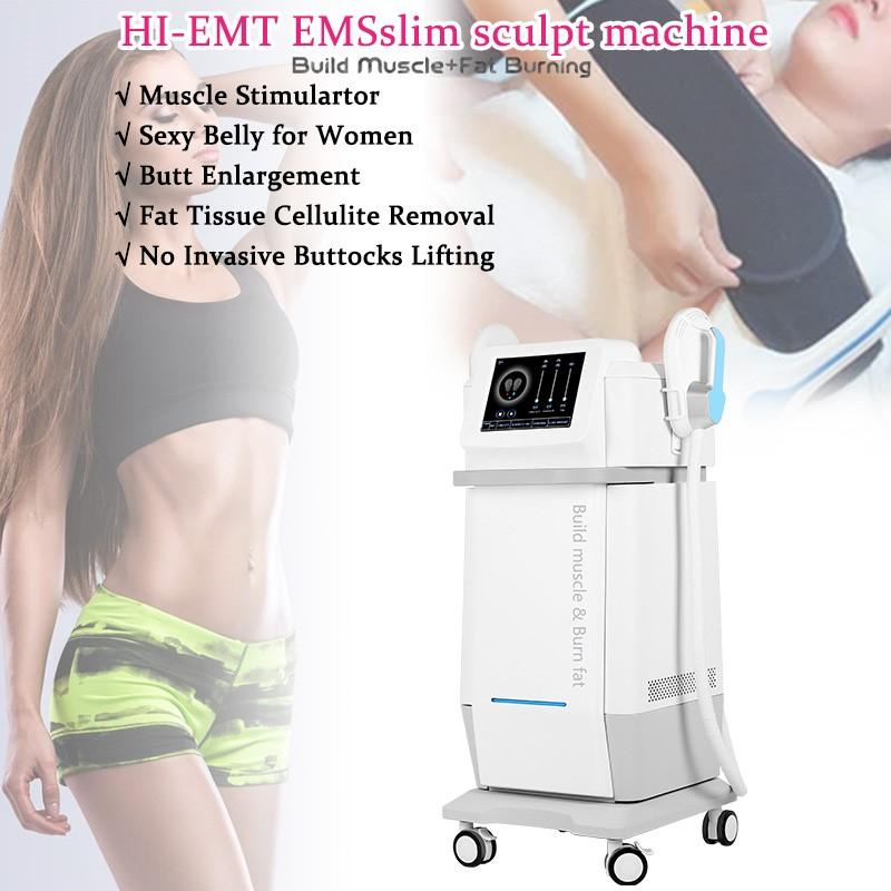 HI-EMT électromagnétique EMS Muscle Building Building Burning Salon Home Usage Machine Machine électromagnétique concentrée haute intensité